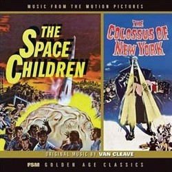 The Space Children / The Colossus Of New York Bande Originale (Nathan Van Cleave) - Pochettes de CD