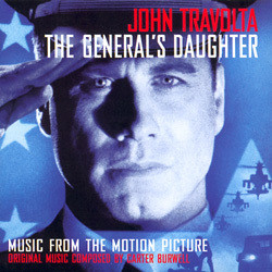 The General's Daughter Soundtrack (Carter Burwell) - CD cover