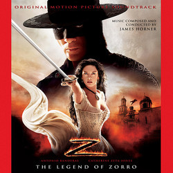 The Legend of Zorro Soundtrack (James Horner) - Carátula