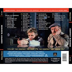 Company Business Colonna sonora (Michael Kamen) - Copertina posteriore CD