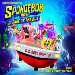 The SpongeBob Movie: Sponge on the Run Soundtrack (Steve Mazzaro, Hans Zimmer) - Carátula
