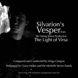 The Light of Virsa: Silvarion's Vesper Soundtrack (Diego Campos) - CD cover