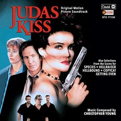 Judas Kiss Soundtrack (Christopher Young) - CD cover