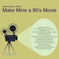 Make Mine a 90's Movie Soundtrack (Raoul , Various Artists) - CD cover