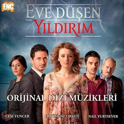 Eve Düşen Yıldırım Soundtrack (Ercument Orkut, Cem Tuncer, Nail Yurtsever) - CD cover