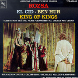 El Cid / Ben-Hur / King of Kings Soundtrack (Miklós Rózsa) - CD cover