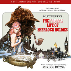 The Private Life of Sherlock Holmes Soundtrack (Miklós Rózsa) - CD cover