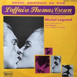 L'Affaire Thomas Crown Soundtrack (Michel Legrand) - CD cover