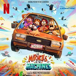 The Mitchells Vs. The Machines Trilha sonora (Mark Mothersbaugh) - capa de CD