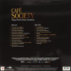 Café Society Colonna sonora (Various Artists) - Copertina posteriore CD