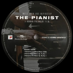 The Pianist サウンドトラック (Various Artists, Wojciech Kilar) - CD裏表紙