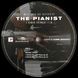 The Pianist サウンドトラック (Various Artists, Wojciech Kilar) - CDインレイ