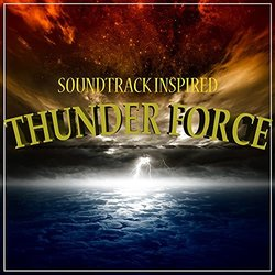 Thunder Force Trilha sonora (Various artists) - capa de CD