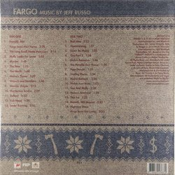 Fargo Soundtrack (Jeff Russo) - CD Back cover