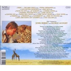 Duma Soundtrack (George Acogny, John Debney) - CD Back cover