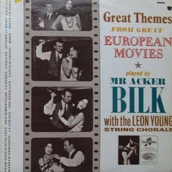 Great Themes From Great European Movies 声带 (Various Artists) - CD封面