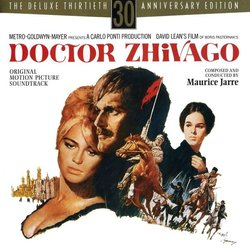 Doctor Zhivago Soundtrack (Maurice Jarre) - CD cover