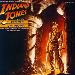 Indiana Jones and the Temple of Doom Soundtrack (John Williams) - CD cover