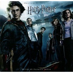 Harry Potter and the Goblet of Fire Soundtrack (Patrick Doyle) - CD cover