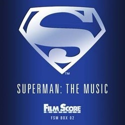 Superman: The Music 1978-1988 Soundtrack (Alexander Courage, Ron Jones, Giorgio Moroder, Ken Thorne, John Williams) - CD cover