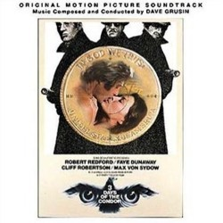 3 Days of the Condor Soundtrack (Dave Grusin) - CD-Cover