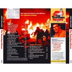 The Towering Inferno Bande Originale (John Williams) - CD Arrière