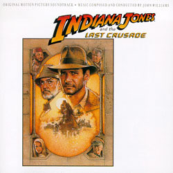 Indiana Jones and the Last Crusade Soundtrack (John Williams) - CD cover
