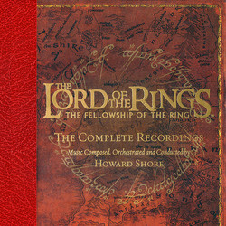 The Lord of the Rings: The Fellowship of the Ring Soundtrack (Howard Shore) - CD-Cover