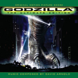 Godzilla Soundtrack  (David Arnold, Michael Lloyd) - CD cover
