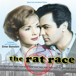 The Rat Race Soundtrack (Elmer Bernstein) - CD cover