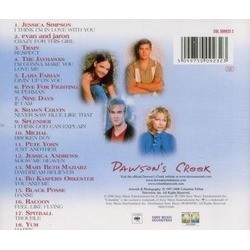 Dawson's Creek 聲帶 (Various Artists) - CD後蓋