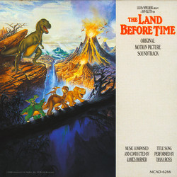 The Land Before Time Soundtrack (James Horner) - CD cover