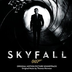 Skyfall Colonna sonora (Thomas Newman) - Copertina del CD