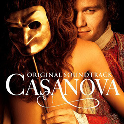 Casanova Soundtrack (Various Artists, Alexandre Desplat) - CD cover