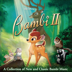 Bambi II Soundtrack (Various Artists, Bruce Broughton, Frank Churchill) - CD-Cover