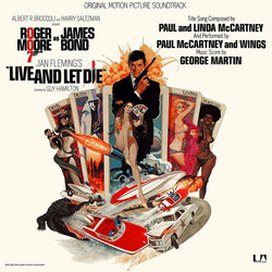 Live and Let Die Soundtrack (George Martin) - CD cover