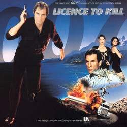 Licence to Kill Soundtrack (Various Artists, Michael Kamen) - CD cover