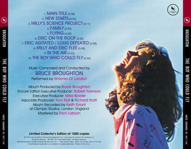 Film Music Site The Boy Who Could Fly Soundtrack Bruce