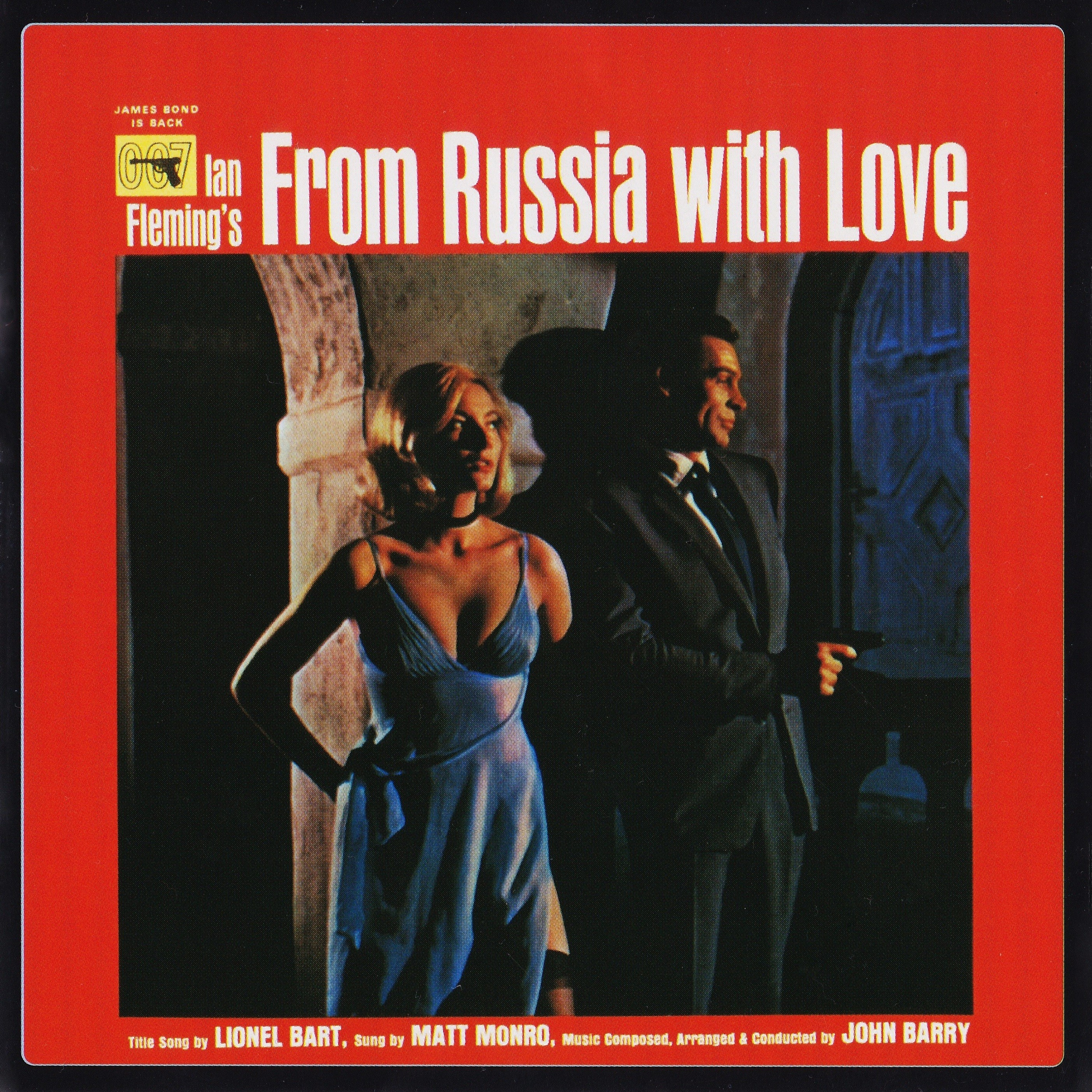 Film Music Site - From Russia with Love Soundtrack (John Barry) - EMI ...