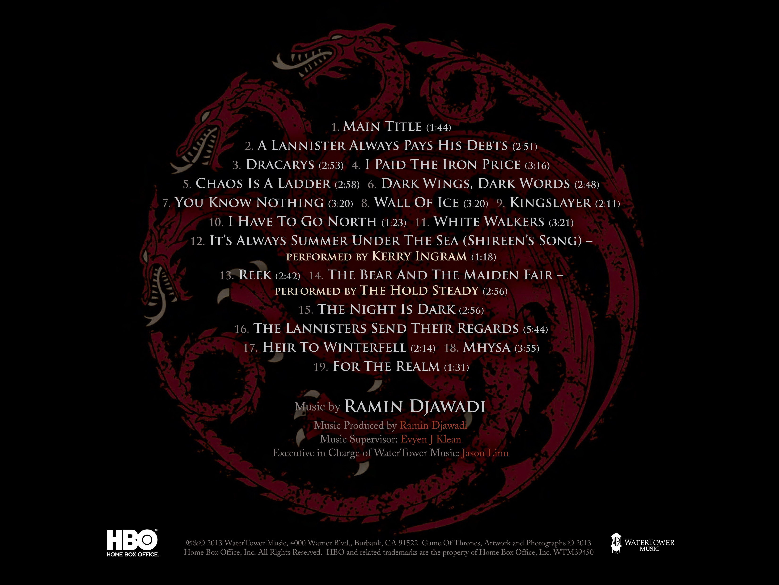 Game of thrones soundtrack season 3 tpb - Che ne sara di noi