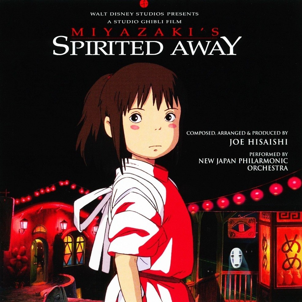 Spirited away composer