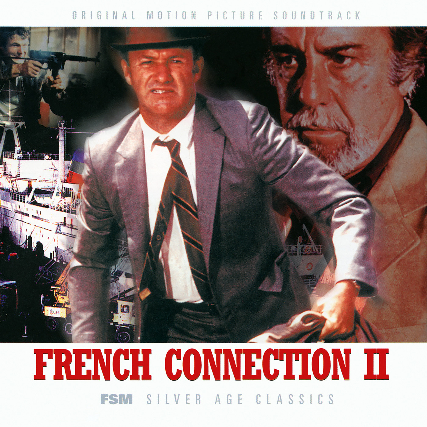 Film Music Site - The French Connection/French Connection ...