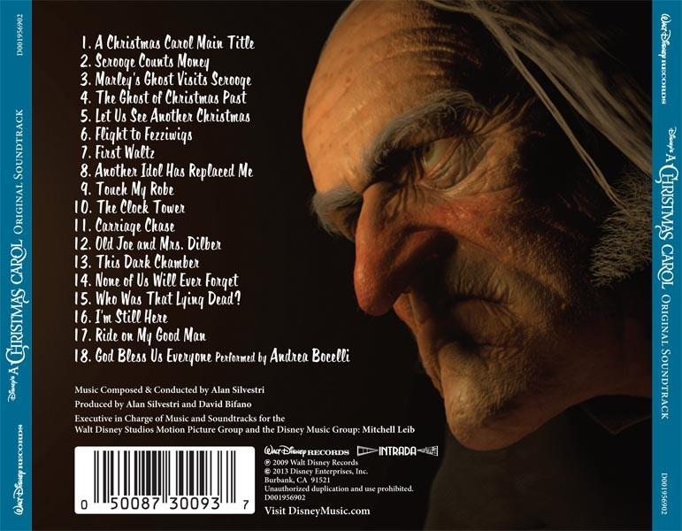 A Christmas Carol Soundtrack.Film Music Site A Christmas Carol Soundtrack Alan Silvestri