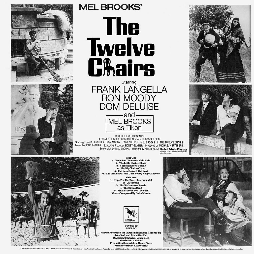 Frank langella the twelve chairs - Close