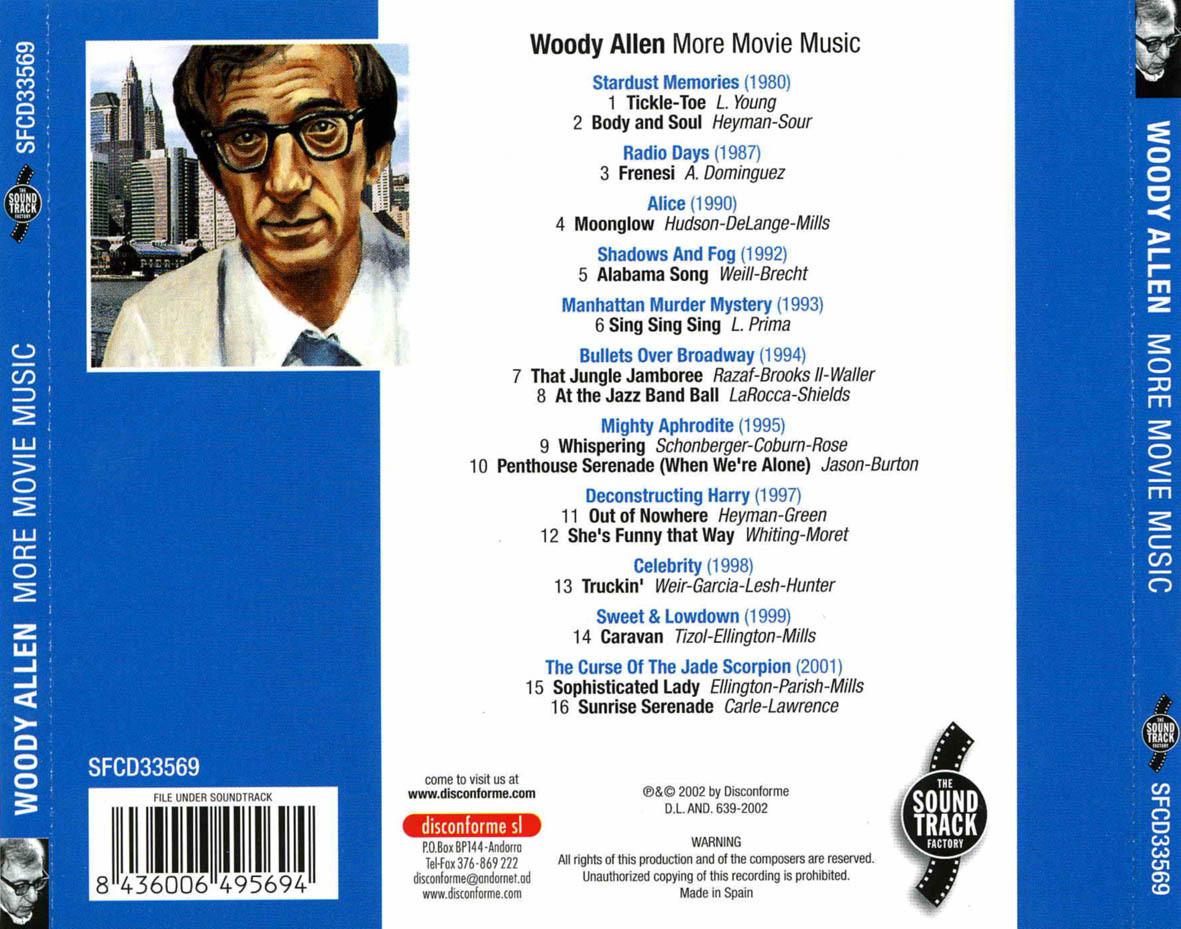 Film Music Site Woody Allen More Movie Music Soundtrack
