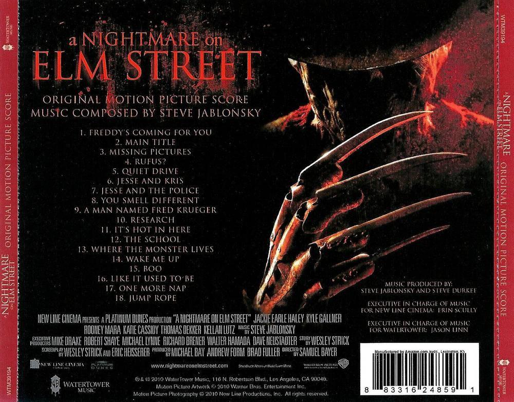 A NIGHTMARE ON ELM STREET OST - STARBURST Magazine