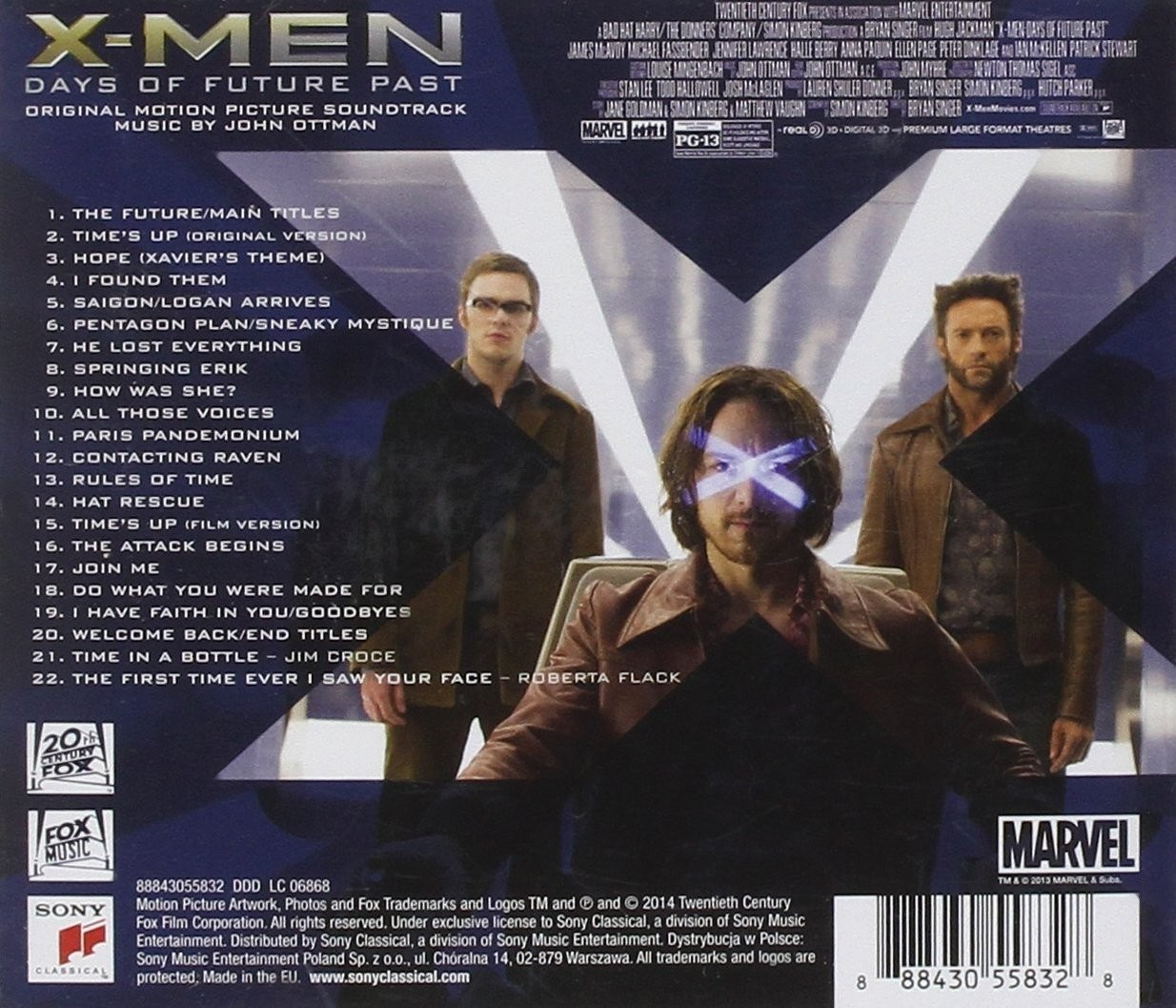 film music site - x-men: days of future past soundtrack (john ottman