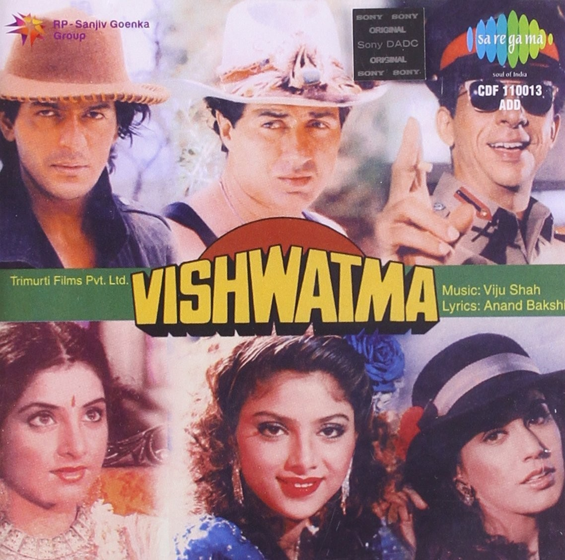 Saat Samundar Paar Baaghi 2 Song Download: Vishwatma Soundtrack (Anand Bakshi, Viju