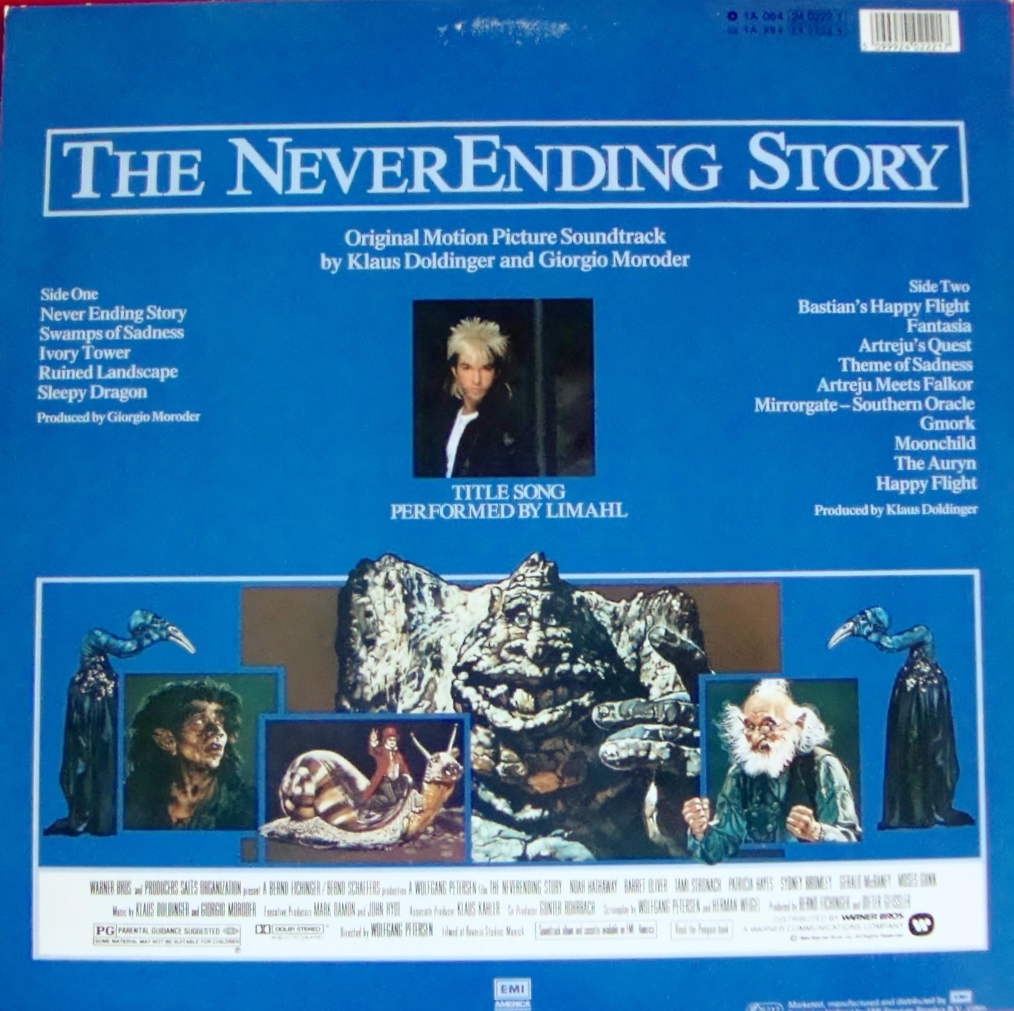 Klaus Doldinger , Giorgio Moroder , Limahl - The NeverEnding Story