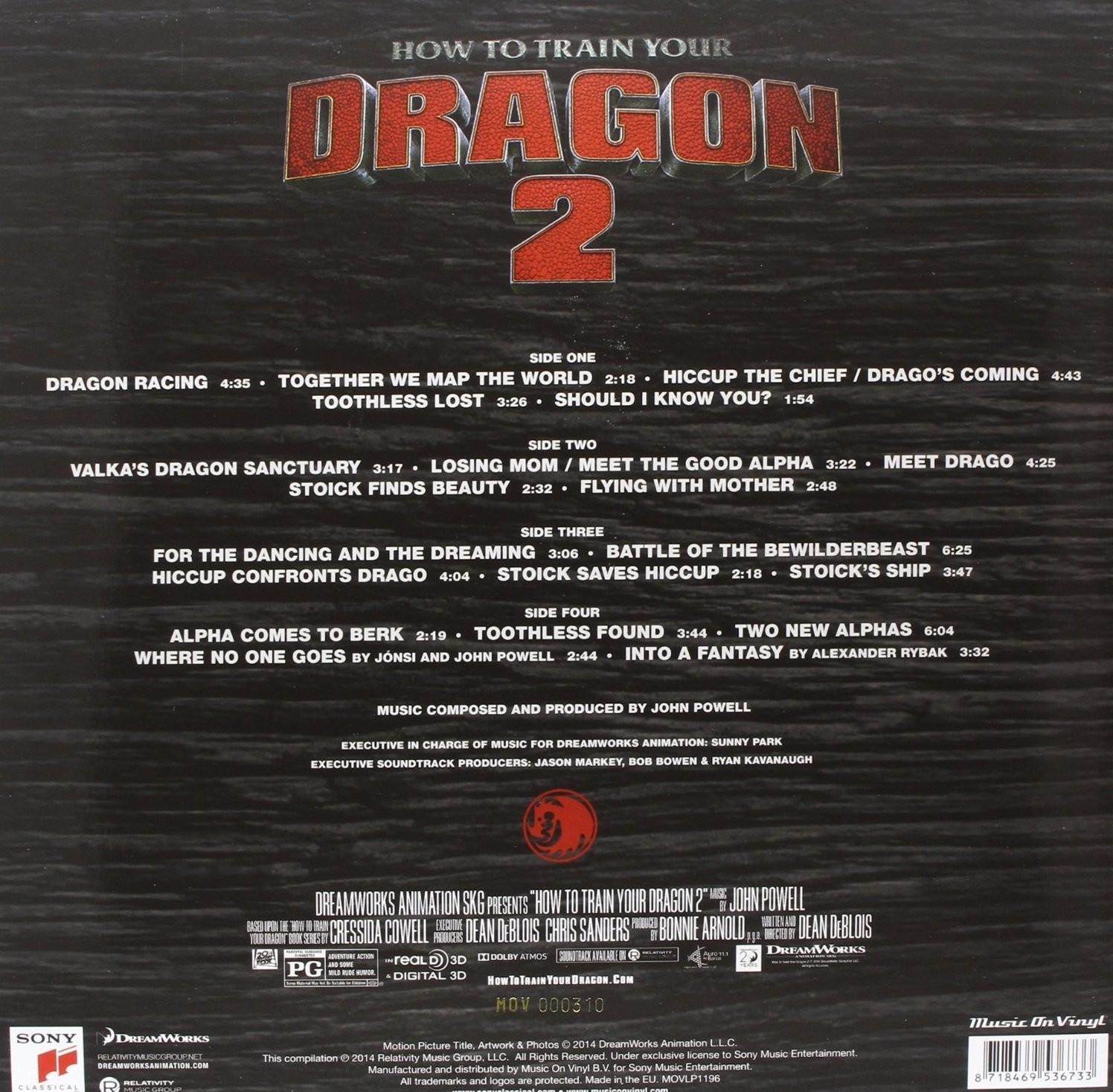 Film music site how to train your dragon 2 soundtrack john powell how to train your dragon 2 soundtrack john powell cd back cover download ccuart Gallery